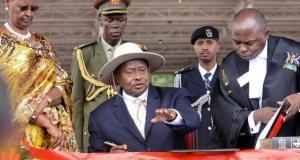 president museveni sworn