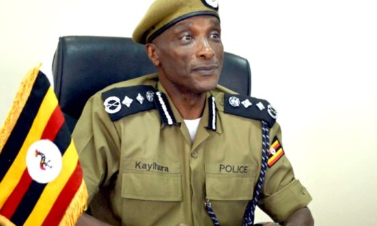 IGP kayihura and gunmen