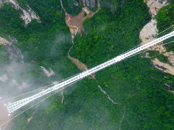 china's glass bridge