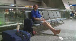 man waiting for girlfriend