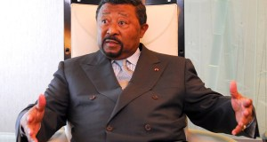 Ping declared himself as Gabon's president