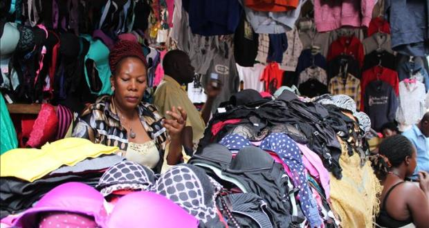 second hand clothes in Uganda