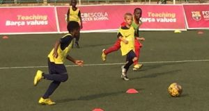 Barcelona launches an Academy in Lagos Nigeria