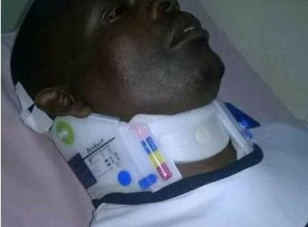 Kayibanda beaten up by robbers