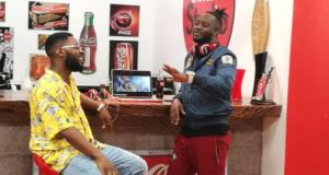 Falz praises workingwith bebe cool