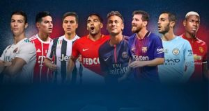 Champions league Group stages draw