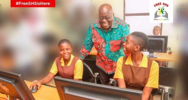 Ghana makes secondary education free