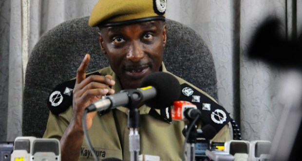 Kayihura says the force is under attack