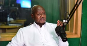 museveni is recognised in Africa