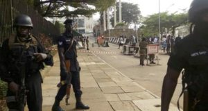Police deploys heavy security at parliament