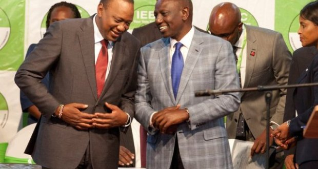 Uhuru Kenyatta wins elections