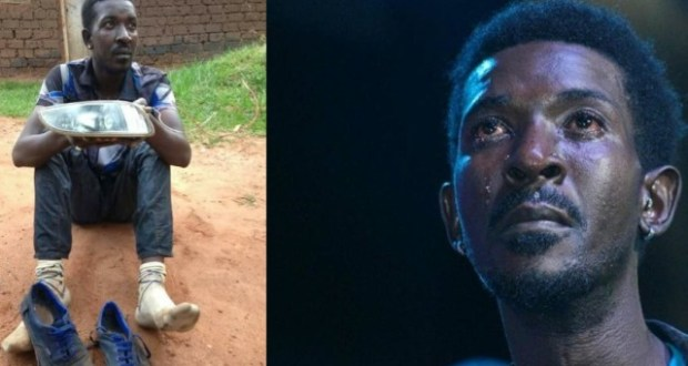 Faded Singer Qute Kaye Caught Red-handed Stealing Car Lights