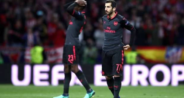 Arsenal kicked out of the Europa League