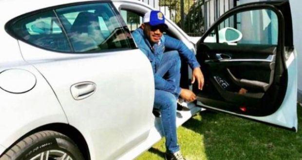 Cameroon Gitawo Buys Himself A Brand New Posh Car