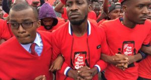 Bobi Wine Joined With Musicians To Protest Against OTT Taxes