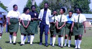 Bobi Wine And Barbie Were Honored At Mpoma Girls School