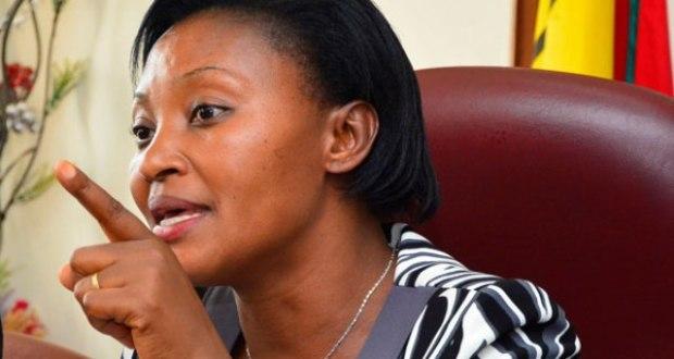 Winnie Kiiza Laments The Fearful Armed Soldiers