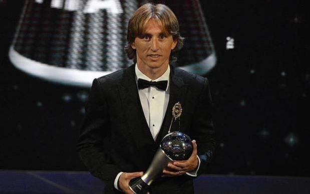 4b691bf90 Luka Modric Crowned World s Best Male Player At FIFA Awards -2018