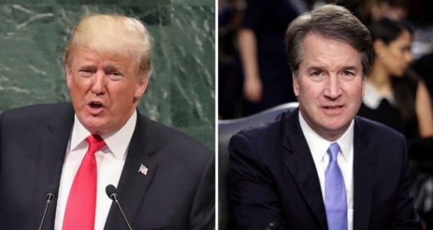 Trump Brett Kavanaugh