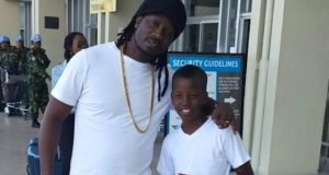 Bebe Cool Embraces His Son Alfa For Being A Soccer Dream Chaser