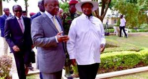 Museveni Paid Courtesy After Meeting The Kabaka