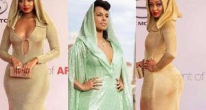 Anitah Fabiola Pissed With Alicia Keys Over Copying Her Dress Design