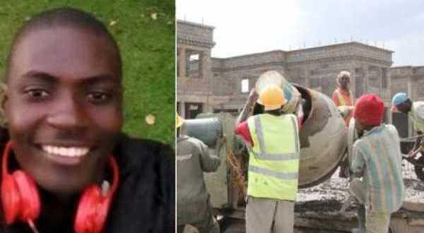 kenyan student working