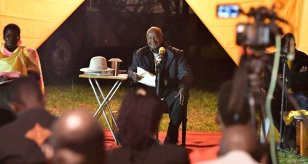museveni talks about karamoja