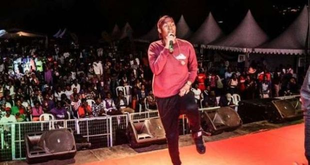 Big Eye Booed Off Stage For Supporting NRM At Freedom City