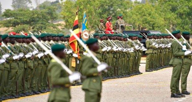 museveni attends kabamba military