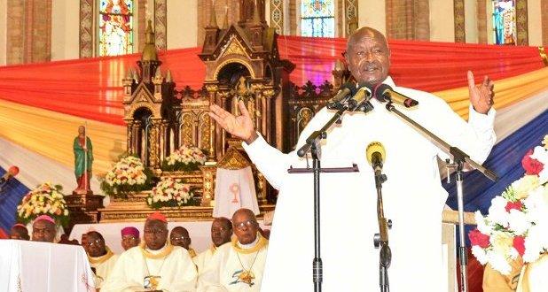 Museveni Africa spiritually grown