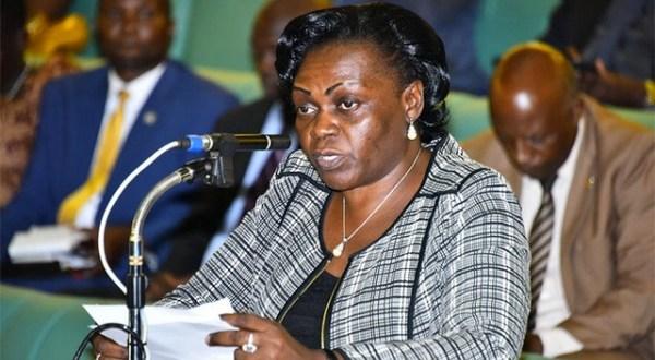 uganda ambassador to kenya and Sarah Opendi asks government