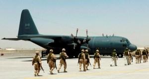 canada sends military plane