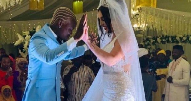 Harmonize weds Sarah