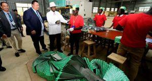 nine factories in Nakaseke