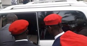 Bobi Wine Arrested And Held At Kasangati Police Station