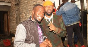 Chris evans and eddy kenzo