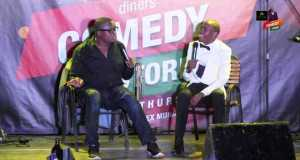 Alex Muhangi Reties Relationship With Fellow Comedian Kapale
