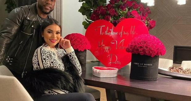 kevin Hart celebrates valentine's day