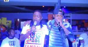 Jose Chameleone Surprised Fans With His 'Baliwa' Song At 911 Lounge