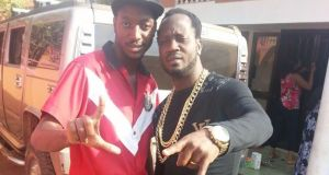 Bebe Cool and Allan Hendrik