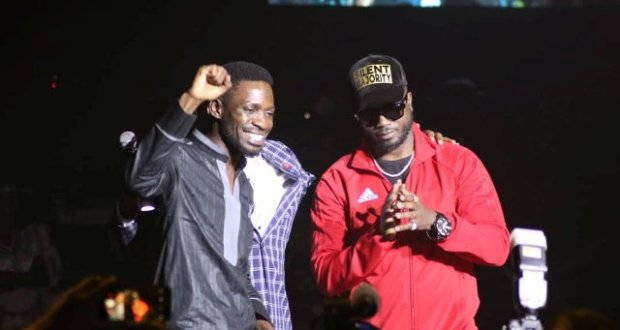 Bobi Wine Appreciates Bebe For Fighting COVID19 Through Music