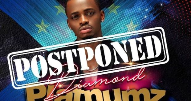 Diamond Platnumz Postpones His European Tour Over Corona Virus