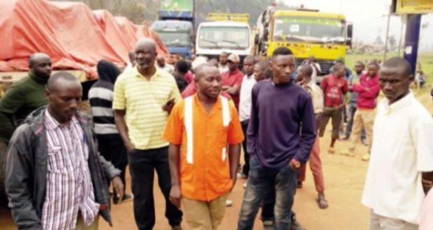 stranded passengers at katuna