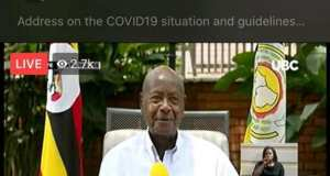 power outage Led Traffic On Internet To Watch Museveni's Speech
