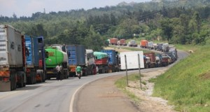 kenyan cargo truck driver / kenyan truck driver and tanzanian truck driver or truck drivers tests positive for coronavirus or covid