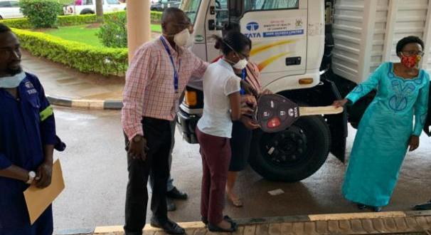 Tata Donates Truck Worth Shs145 Million For Covid Response