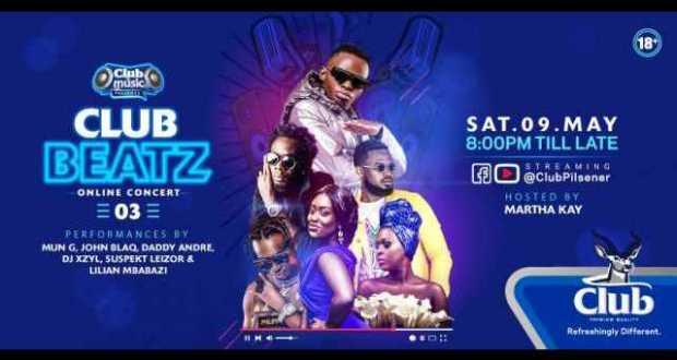 Lilian Mbabazi, John Blaq Set To Perform At Club Beatz Online Concert