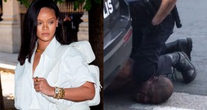 Rihanna comdenms the deatg of George Floyd