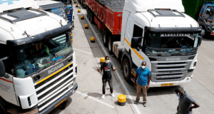 kenyan top security bosses solve movement of truck